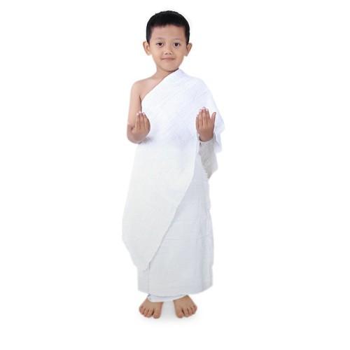 Foto Produk Kain Ihram Anak TK Manasik Haji Umrah Murah IATK dari Grone