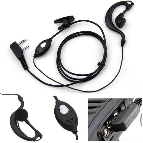 Foto Produk Headset Earphone Untuk HT Walkie Talkie Black dari plugandpay