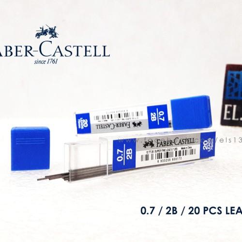 Foto Produk Faber Castell Isi Pensil Mekanik 0.7 2B dari eLs_shop