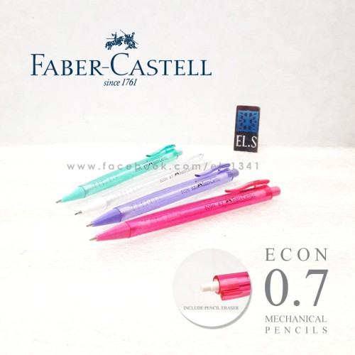 Foto Produk Faber Castell Econ 0.7 Mechanical Pencil (Pensil Mekanik) dari eLs_shop