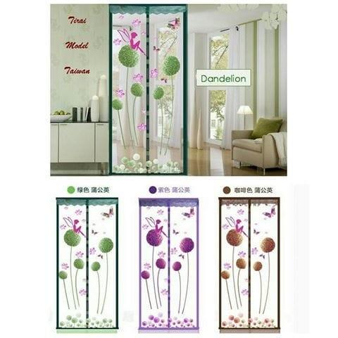 Foto Produk [ DANDELION ] TIRAI MAGNET ANTI NYAMUK MOTIF DANDELION FLOWER dari Green Cosme