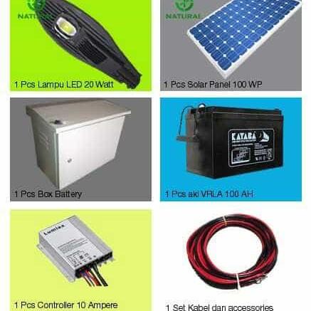 Foto Produk Paket PJU Solar 20 watt dari Multi Daya