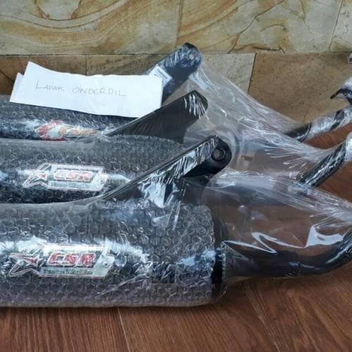 Foto Produk knalpot racing bobokan scoopy karbu merk csr dari ONDERDIL MOTOR PEDIA