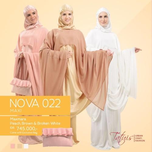 Foto Produk Mukena Premium - Mukena Tatuis Nova 022 - Exclusive Bag dari NNF COLLECTION