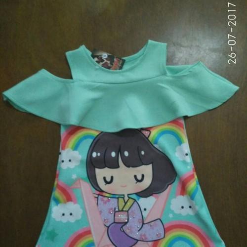 Foto Produk Baju anak / Dress anak scuba size S M L dari Wini Baju Anak
