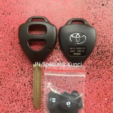 Foto Produk Casing Kunci Toyota 2Tombol,yaris,fortuner,innova,vios  dari toko_mobil