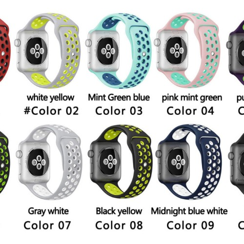 Foto Produk Apple Watch NIKE Strap 42mm Gelang Tali Model ORIGINAL dari JUALGADGETS