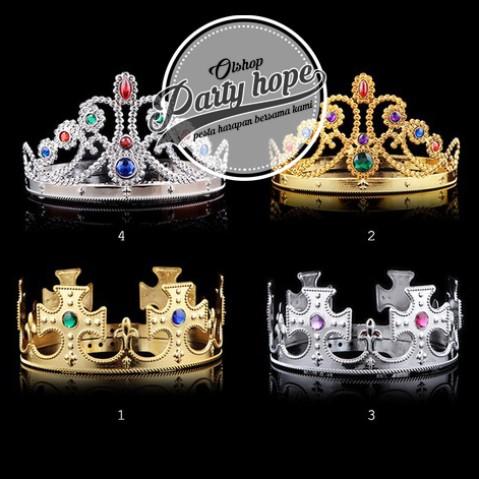 Foto Produk mahkota ultah / mahkota raja / mahkota king / mahkota queen / mahkota dari PARTY HOPE 2