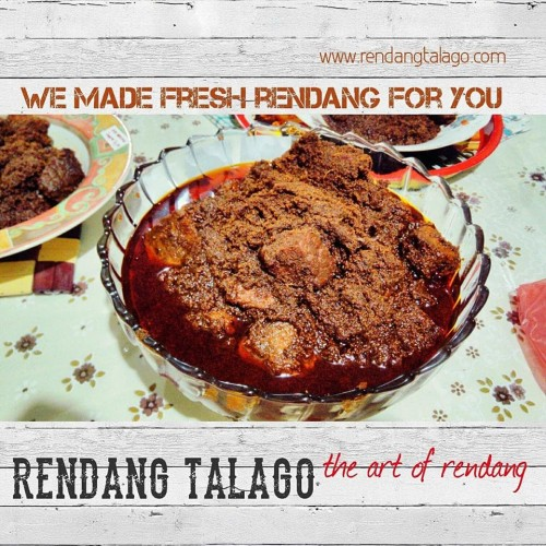 Foto Produk Rendang Talago Daging Sapi 1/2 Kg - Original dari Rendang Talago
