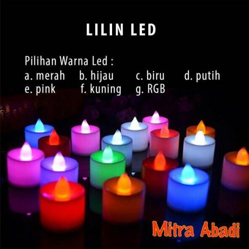Foto Produk LED Lilin/Lilin LED/Lilin Elektrik/Electric Candle - Hijau dari Mitra Abadi LED
