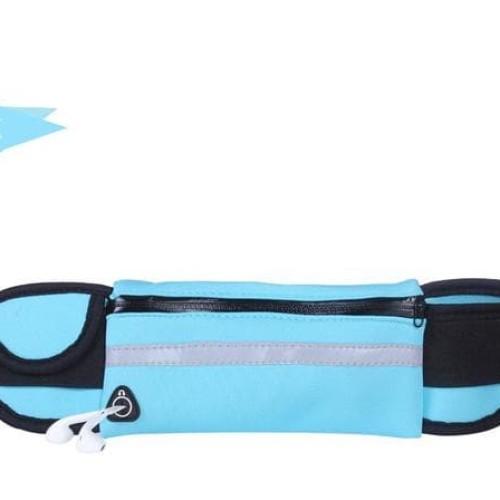 Foto Produk Waterproof Waist Bag Running Belt Tas Pinggang Jogging Lari Olahraga dari kickhome