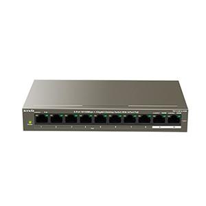 Foto Produk TENDA TEF1110P-8-102W/PoE/8-Port10/100Mbps+2 Gigabit Desktop dari Network Online