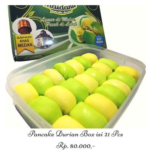 Foto Produk Pancake Durian Maidanii - Mini Size isi 21 Pcs dari DURIAN MAIDANII