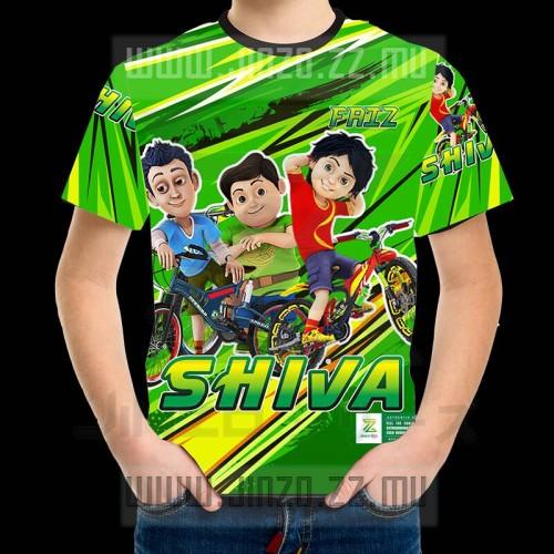 Foto Produk Kaos Anak Shiva 1 dengan Nama dari Jinzo Series