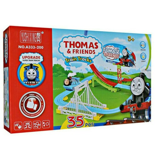 Foto Produk Track Train Set seri Thomas & Friends atau Set Kereta Api Anak dari R&M Toys