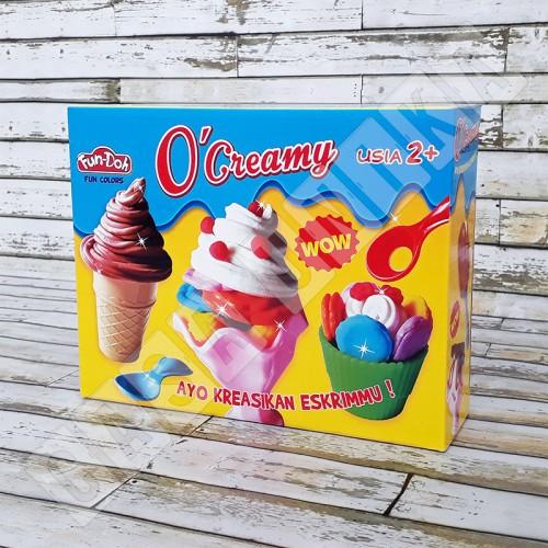 Foto Produk Fun Doh O Creamy Ice Cream - Lilin Mainan Anak FunDoh PlayDoh Play Doh dari Casa Unika