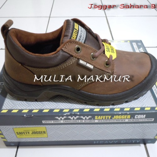 Foto Produk Sepatu Safety Jogger Sahara Brown S3 dari Mulia Komputer