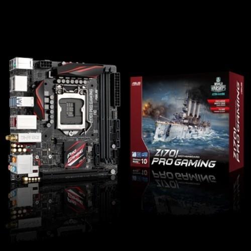 Foto Produk Asus Z170I Pro-Gaming (LGA1151,Z170, DDR4) dari Soft Tech
