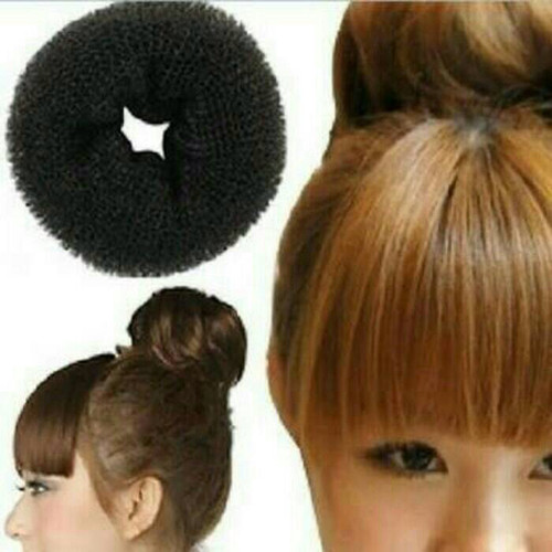 Foto Produk bun hair donut size M / sanggul / cepolan - Beige dari supermurah88