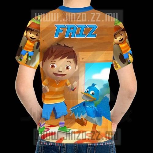 Foto Produk Kaos Anak Zack & Quack 1 dari Jinzo Series