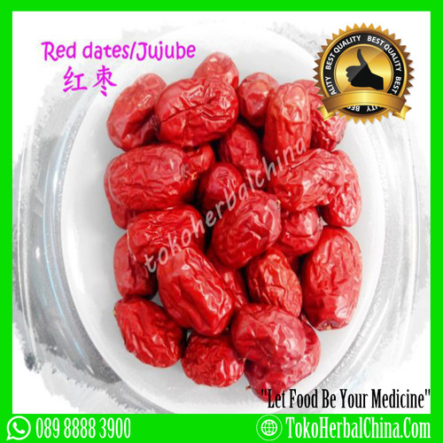 Foto Produk AngCo HongZao(Red Dates) Premium 100gr dari Toko Herbal China