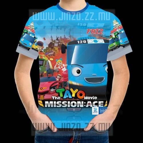 Foto Produk Kaos Anak Little Bus Tayo 2 dari Jinzo Series