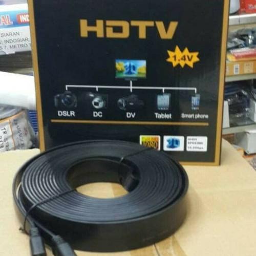 Foto Produk KABEL HDMI 25M BAGUS FLEXIBLE 25 METER MURAH PANJANG 25METER KE CABLE dari ORIGINAL CHARGER