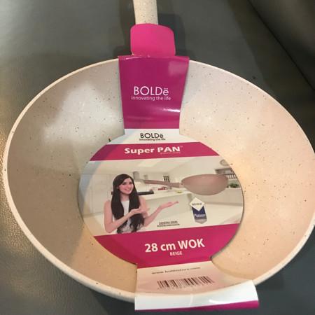 Foto Produk Wok 28 cm keramik Super PAN BOLDe dari MAC Housewares