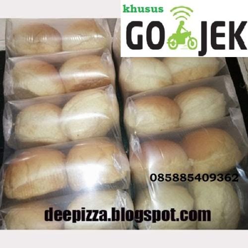 Foto Produk KHUSUS GOJEK GO KILAT Roti Burger Reguler -Roti Burger -10Pcs-Termurah dari Rumah kebab