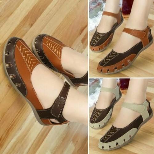 Foto Produk Sepatu Sandal Wanita Flat Mulan 1213 dari DETECTOR