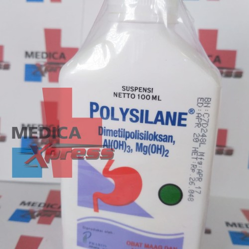Foto Produk POLYSILANE SIRUP 100 ML dari Medica Xpress