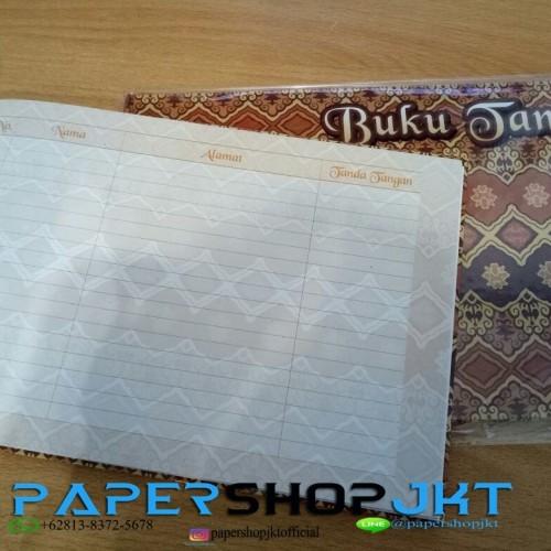 Foto Produk Buku Tamu / Buku Daftar Tamu Undangan / Guest Book Kenko 2920 dari Paper Shop Jkt