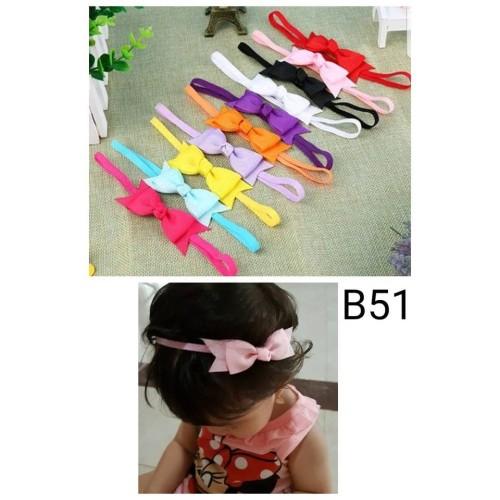 Foto Produk bando bayi dan anak headband pita - Biru Muda dari BabyGwen