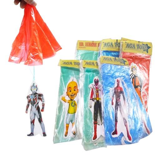 Foto Produk Mainan Anak Parasut Terjun Payung Karakter Superhero dari Sportsite