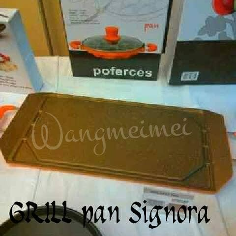 Foto Produk New Grill Pan Signora dari Mina Kitchen Tools