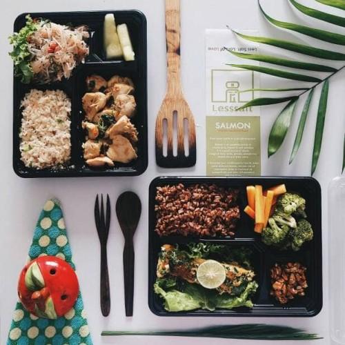 Foto Produk HEALTHY MEAL PLAN DETOX WEIGHT LOSS (5 HARI LUNCH DAN DINNER) dari Lesssalt diet