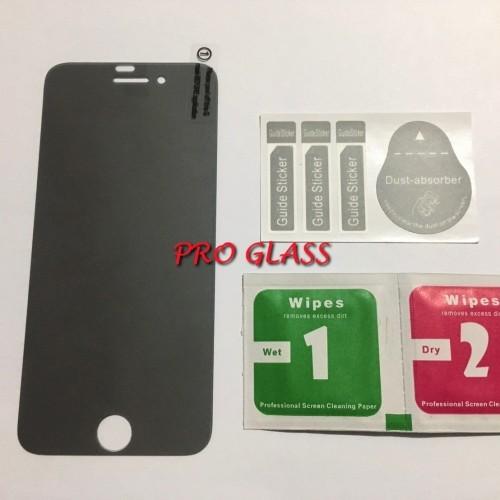 Foto Produk AGSP Iphone 7 Privacy MATTE Anti Spy - Anti Glare Magic Tempered Glass dari Pro Glass