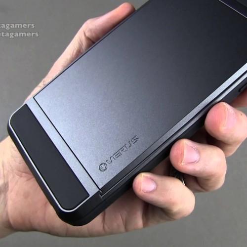 Foto Produk VERUS DAMDA SLIDE Samsung S7 Flat Edge case back cover casing bumper - S7 Edge, Black dari Casing handphone murah