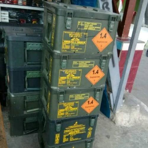 Foto Produk BOX amunisi pindad anti air dari dafastory