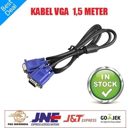 Foto Produk Kabel Vga 1.5 M kwalitas bagus dari Finel Computer Bintaro