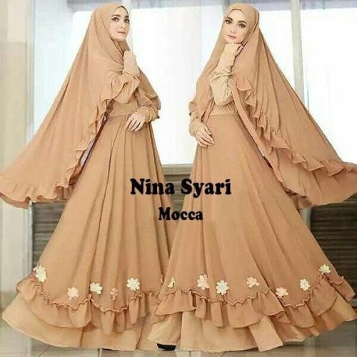 Foto Produk Grosir Gamis Murah Nina Mocca ( suplayer,produsen,konveksi) dari rajabusanamuslim