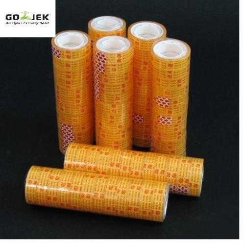 Foto Produk Isolasi Selotip Kecil Bening Nachi 12mm x 25 Yard - ISO02 dari Hong Sheng Indonesia