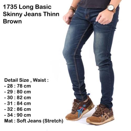 Foto Produk celana panjang navy jeans / skinny jeans pria navy / jeans slimfit - 31 dari Brotherholicstore