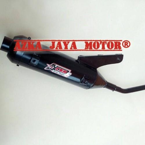 Foto Produk Knalpot Racing Bobokan CSR Yamaha Fino Grande 125 model standar dari Azka Jaya Motor