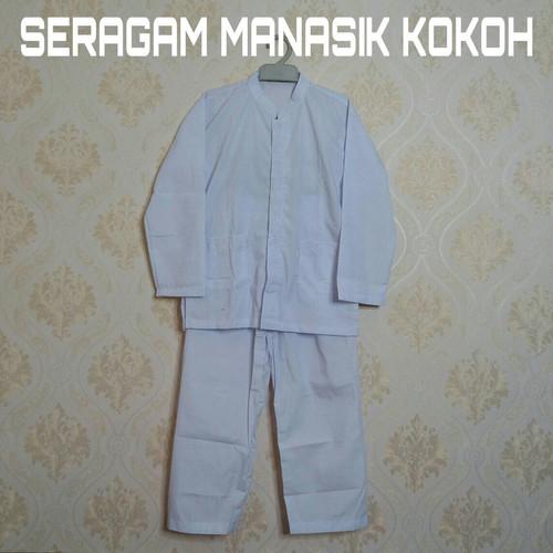 Foto Produk Baju Setelan Kokok anak / seragam MANASIK TK dari seragambekasi