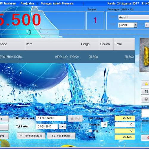 Foto Produk Paket Mini Printer Kasir Thermal QPOS 58mm & Software Solusi Toko 2.0 dari solusiprogramcom
