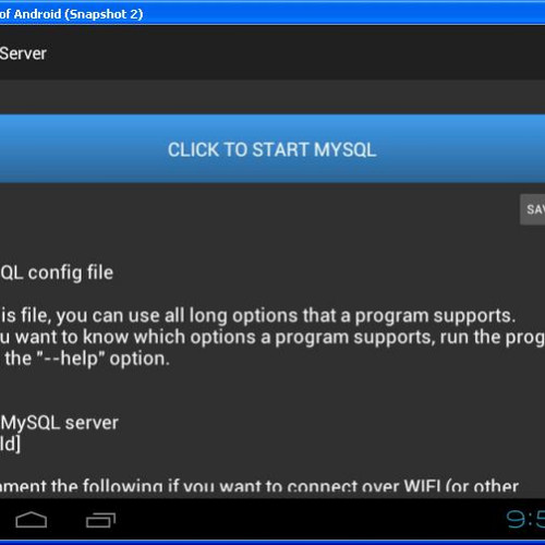 Foto Produk Free Lite Mysql Server for Android without root access dari solusiprogramcom