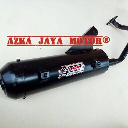 Foto Produk Knalpot Racing Bobokan Honda Beat Fi merk CSR dari Azka Jaya Motor