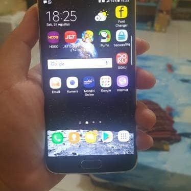 Foto Produk [Bekas Mulus] Samsung Galaxy S6 Edge 128 GB, Green Emerald dari Ebook Centrum