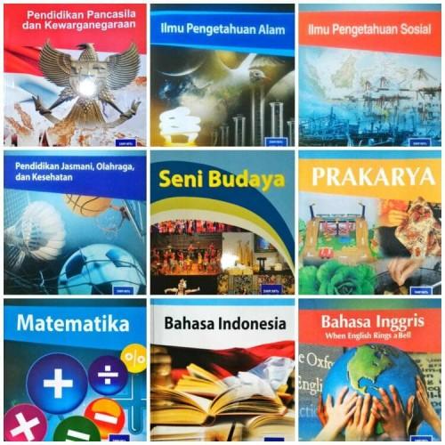 Foto Produk Paket Buku SMP Kelas 7 Semester 1 Kurikulum 2013 Edisi Revisi 2017 dari Egas Books